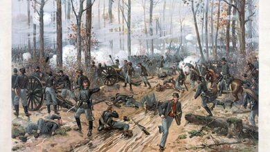 Thure de Thulstrup, Battle of Shiloh, 1887