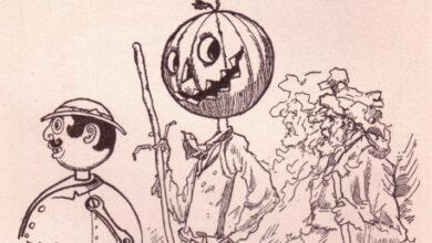 Tik-Tok and Jack Pumpkinhead