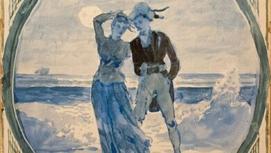 Winslow Homer, Couple on the Shore, 1878