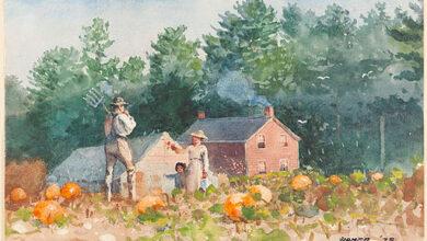 Winslow Homer, The Pumpkin Patch, 1878