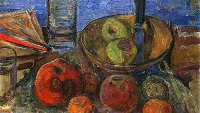 Zygmunt Waliszewski, Still Life with Apples, 1929