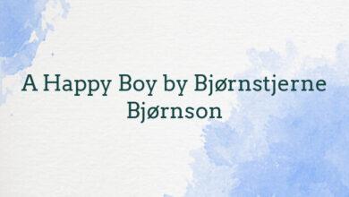A Happy Boy by Bjørnstjerne Bjørnson