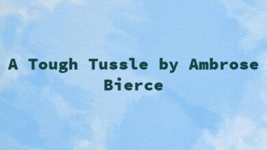 A Tough Tussle by Ambrose Bierce