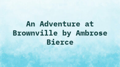 An Adventure at Brownville by Ambrose Bierce