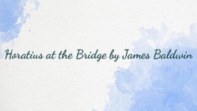 Horatius at the Bridge by James Baldwin