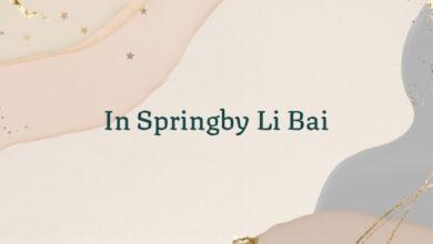 In Springby Li Bai