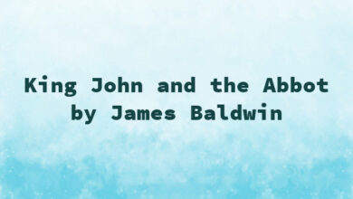King John and the Abbot by James Baldwin