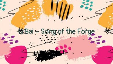 Li Bai – Song of the Forge