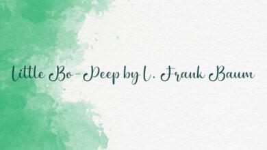 Little Bo-Peep by L. Frank Baum