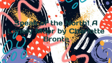 Speak of the North! A Lonely Moor by Charlotte Bronte