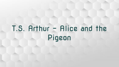 T.S. Arthur – Alice and the Pigeon