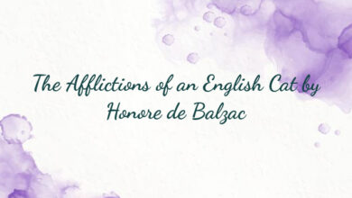 The Afflictions of an English Cat by Honore de Balzac