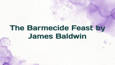 The Barmecide Feast by James Baldwin