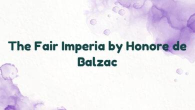 The Fair Imperia by Honore de Balzac