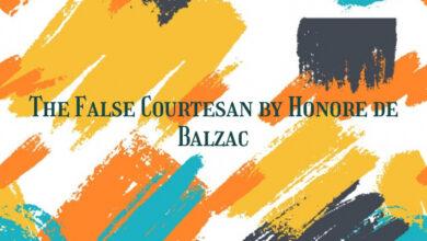 The False Courtesan by Honore de Balzac