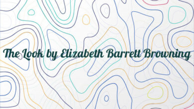 The Look by Elizabeth Barrett Browning