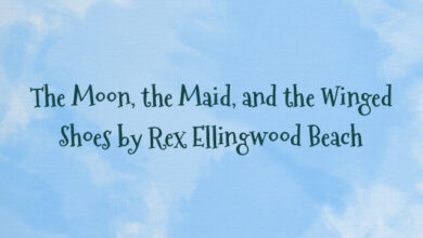 The Moon, the Maid, and the Winged Shoes by Rex Ellingwood Beach