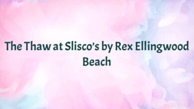 The Thaw at Slisco's by Rex Ellingwood Beach
