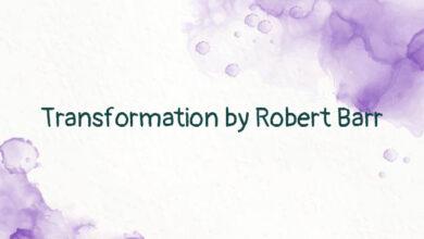 Transformation by Robert Barr