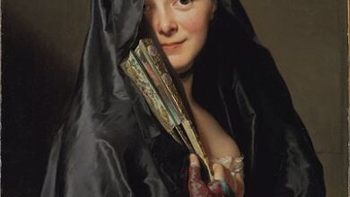Alexander Roslin, The Lady with the Veil, 1768