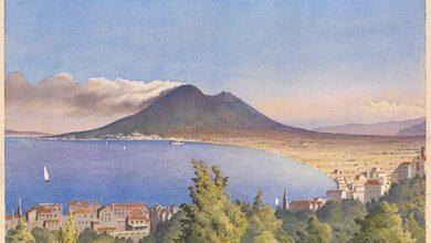 Edward Fanshawe, Bay of Naples from Castellamare, 1858