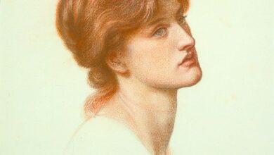 Gabriel Rossetti, Dante's Dream, Alexa Wilding, 1870