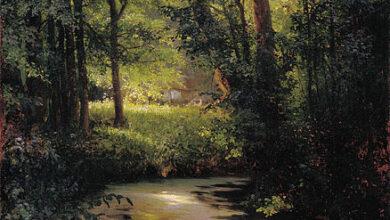 Grigoriy Myasoyedov, Forest Creek, Spring 1890