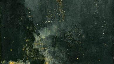 James Abbott Whistler, Nocturne in Black and Gold, 1874