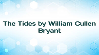 The Tides by William Cullen Bryant