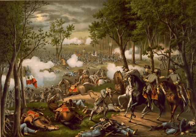 Battle of Chancellorsville, May 2-4, 1863, The Red Badge of Courage