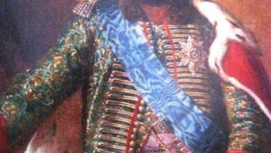 King Erekle II of Kartli and Kakheti (7 November 1720 or 7 October 1721 – 11 January 1798)