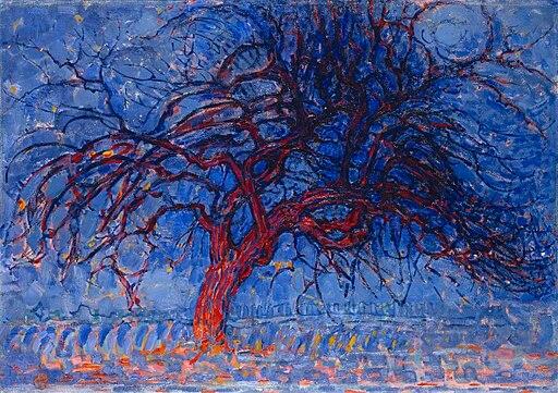 Piet Mondrian, The Red Tree, Amsterdam, 1908