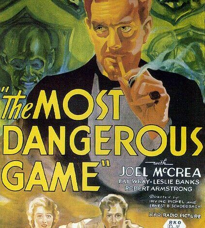 The Most Dangerous Game, movie poster, 1932
