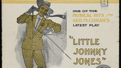 """The Yankee Doodle Boy"" sheet music, 1904"