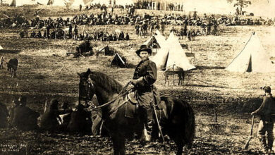 Ulysses S. Grant at City Point, montage of images, 1902