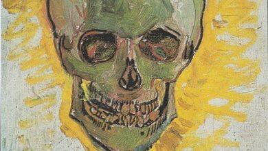 Vincent van Gogh, Skull, Paris, winter 1887-88