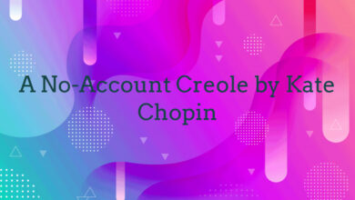 A No-Account Creole by Kate Chopin