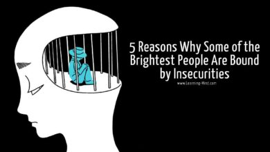 5 Reasons Why Intelligent People Are Bound by Insecurities