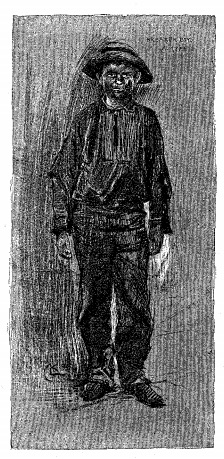 An illustration for the story In The Depths of a Coal Mine by the author Stephen Crane