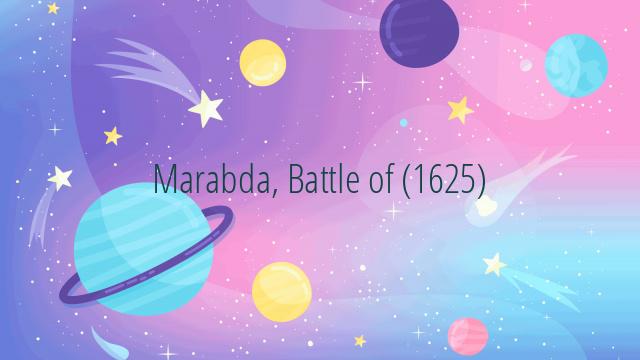 Marabda, Battle of (1625)