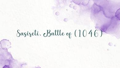 Sasireti, Battle of (1046)