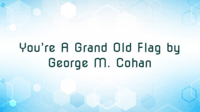 You're A Grand Old Flag by George M. Cohan