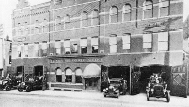 Central Police and Fire Station, Allentown, Pennsylvania, 1917