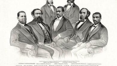 First Colored Senator and Representatives, 1872