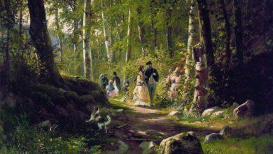 Ivan Shishkin, A Walk in the Forest, 1869