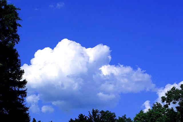 Kabir Bakie, Clouds Blue Sky, July 2004