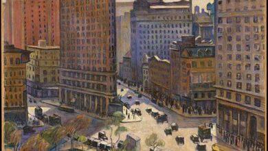 Samuel Halpert, The Flatiron Building, New York, 1919