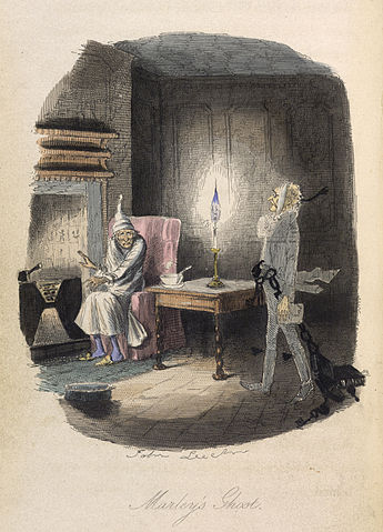 A picture for the book A Christmas Carol