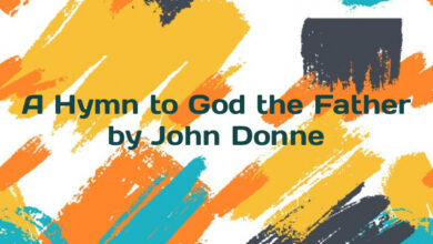 A Hymn to God the Father by John Donne