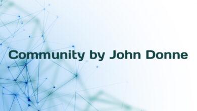 Community by John Donne